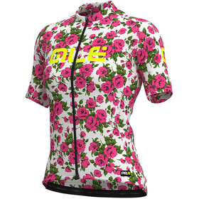 Alé Cycling Graphics PRR Roses SS Jersey Women fluo pink